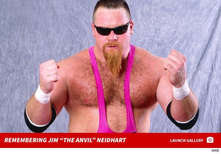 """Remembering Jim """"The Anvil"""" Neidhart"""