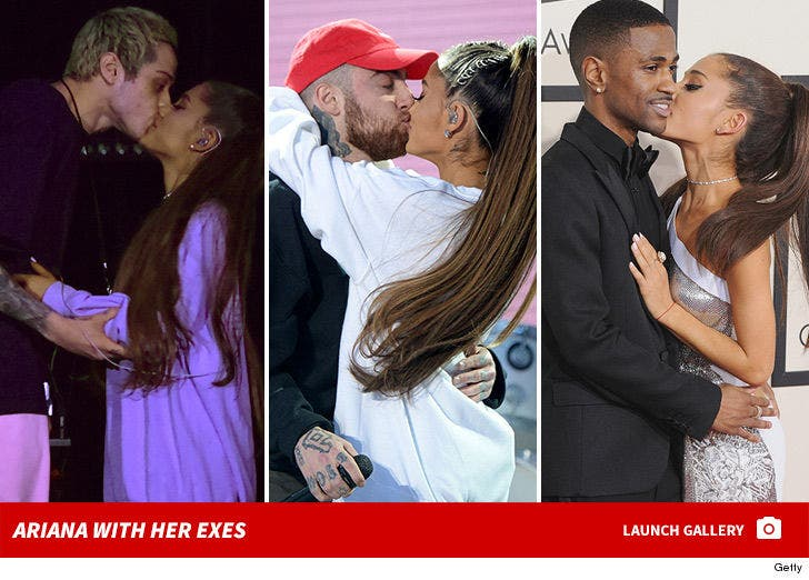 Ariana Grande and Her Exes
