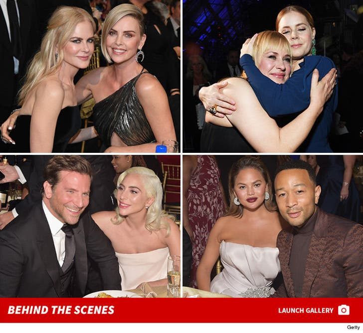 2019 Critics' Choice Awards -- Behind the Scenes