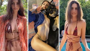 Emily Ratajkowski's Quarantine Hot Shots