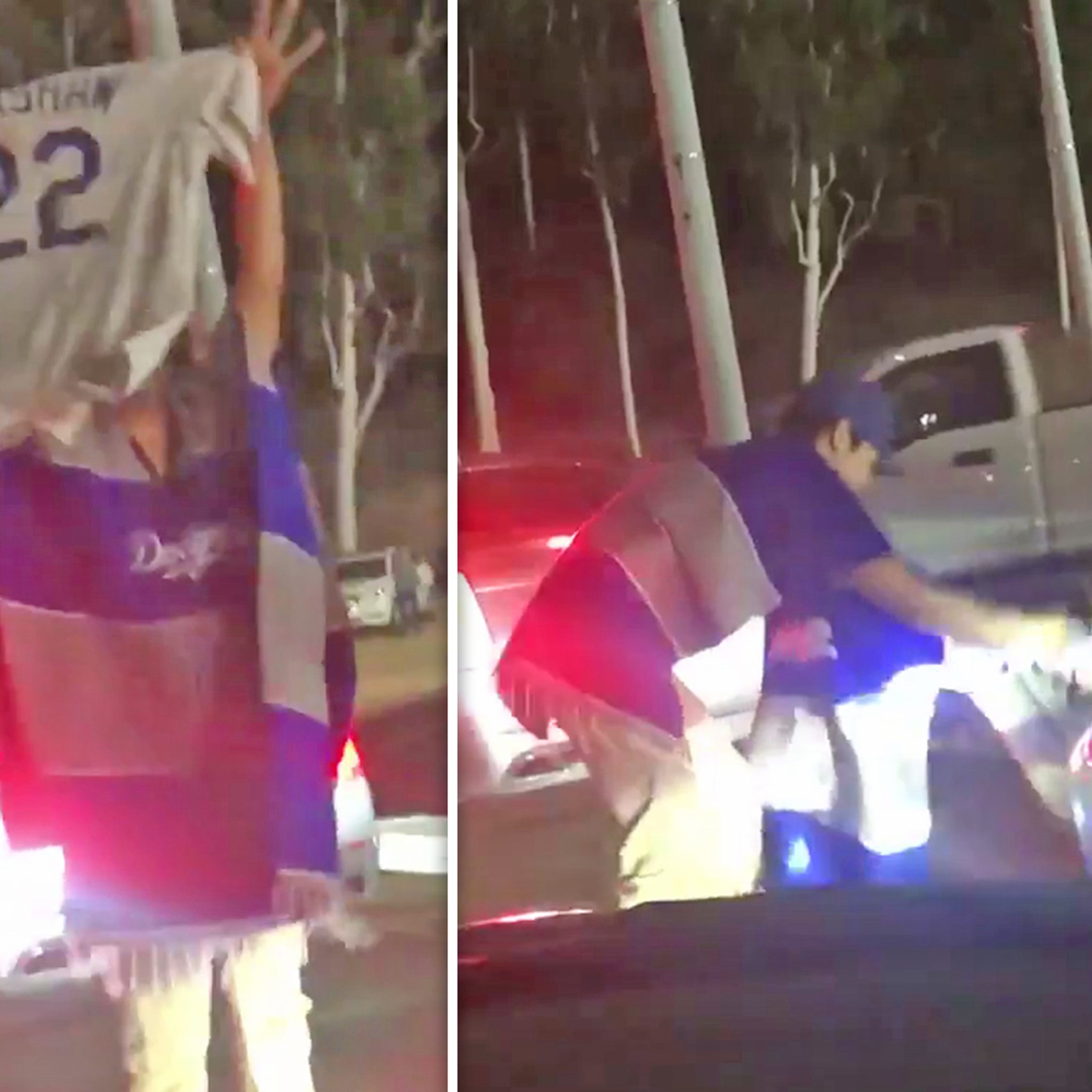 Clayton Kershaw Jersey Run Over At Dodger Stadium After NLDS Collapse