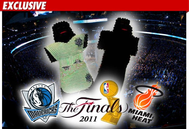 Heat Fans -- Dropping VOODOO Curse on the Mavs