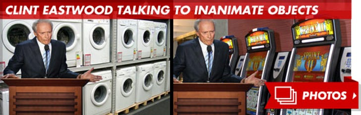 Clint Eastwood Talking to Inanimate Objects