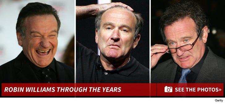 Robin Williams -- Through The Years