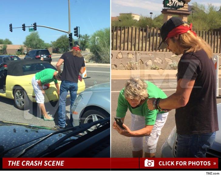 Bret Michaels Car Crash Photos
