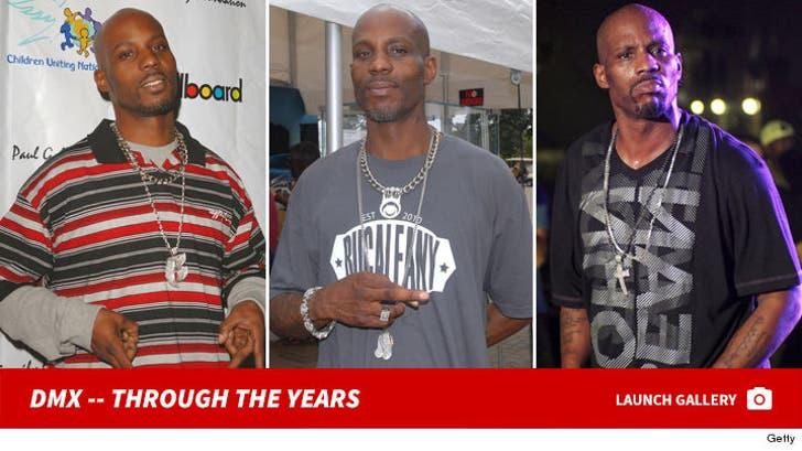 DMX -- Through The Years