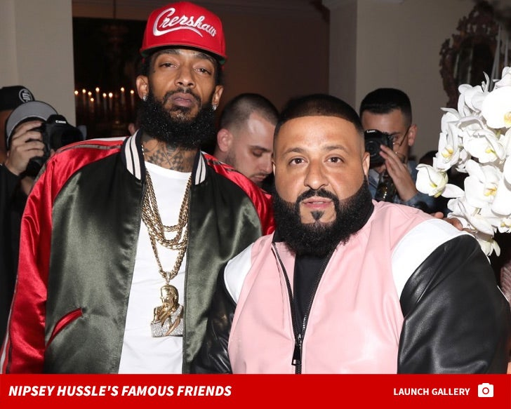 Nipsey Hussle's Famous Friends