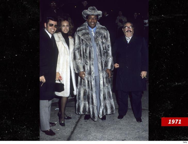 Drug Kingpin Frank Lucas, Depicted In 'American Gangster
