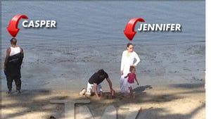 Jennifer Lopez Rents L.A. Public Beach -- Keep Away From My Kids