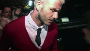 David Beckham -- I Diddled Myself in front of My Teammates