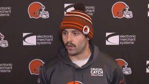 Baker Mayfield Explains Shaving Handlebar Mustache, 'I Didn't Deserve It'