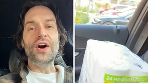 Chris D'Elia Claims Cashier Gave Him Hoarded Toilet Paper, Big Fan
