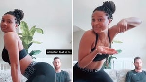 Travis Kelce's GF Kayla Nicole Interrupts Gaming Sesh With Ass Shake-Orama