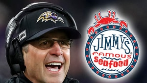 Ravens Coach John Harbaugh Secretly Pays Entire Restaurant Bill, Dinner's On Me!