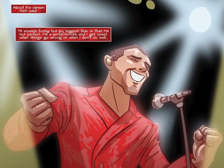 Nick Jonas Comic Book