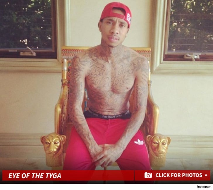 Tyga's Shirtless Shots