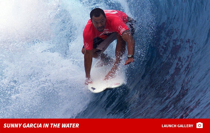Sunny Garcia in the Water