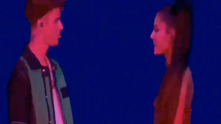 Justin Bieber Performs Sorry During Ariana Grande Set At Coachella