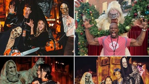 Famous Frights At Hollywood Horror Nights ... A Real Scream!