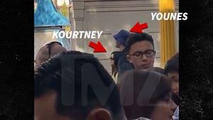 Kourtney Kardashian, Younes Bendjima Cozy Up at Disneyland