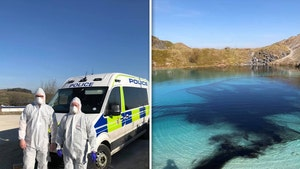 Cops Dye UK's Blue Lagoon Black to Dissuade Crowds, No More IG Pics