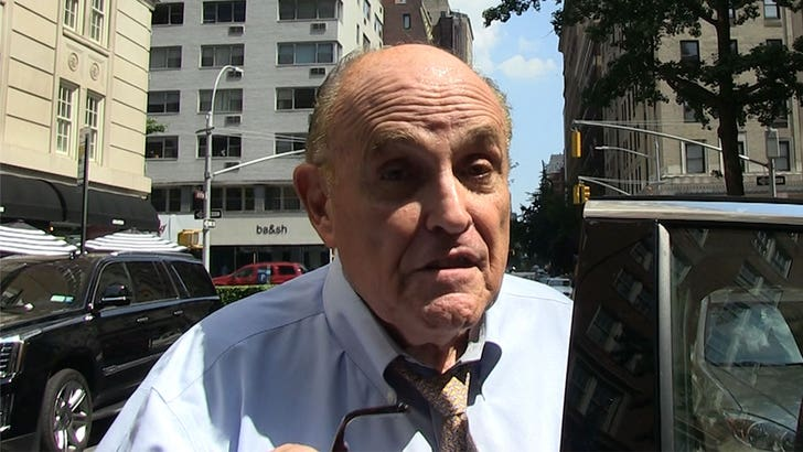 Rudy Giuliani Says Kanye's Still Secret Trump Supporter, Fuels Spoiler Campaign Theory