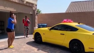 NFL's Henry Ruggs Surprises Girlfriend With New Mustang, Tears of Joy!