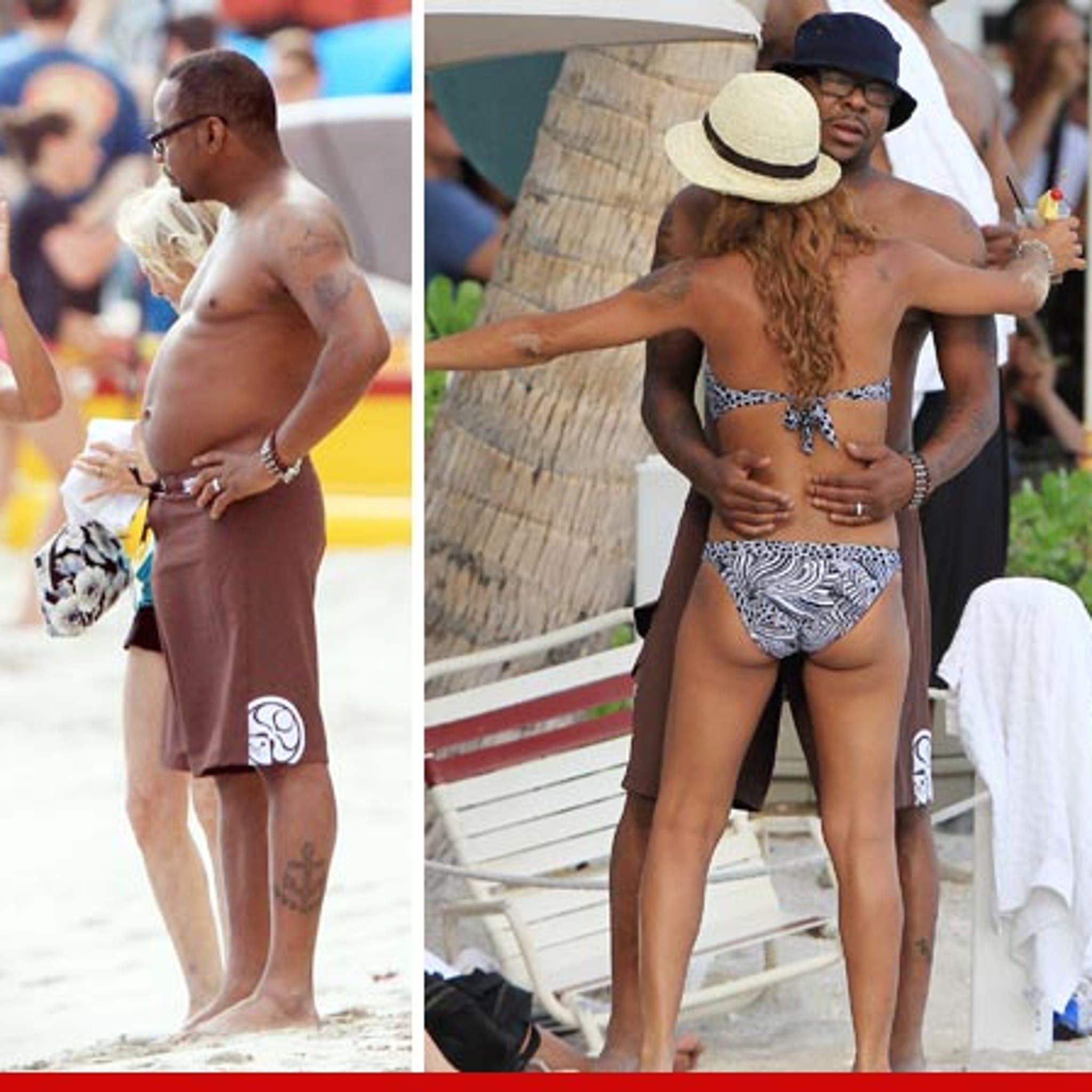 Bobby Brown & New Wife -- The Belly ...