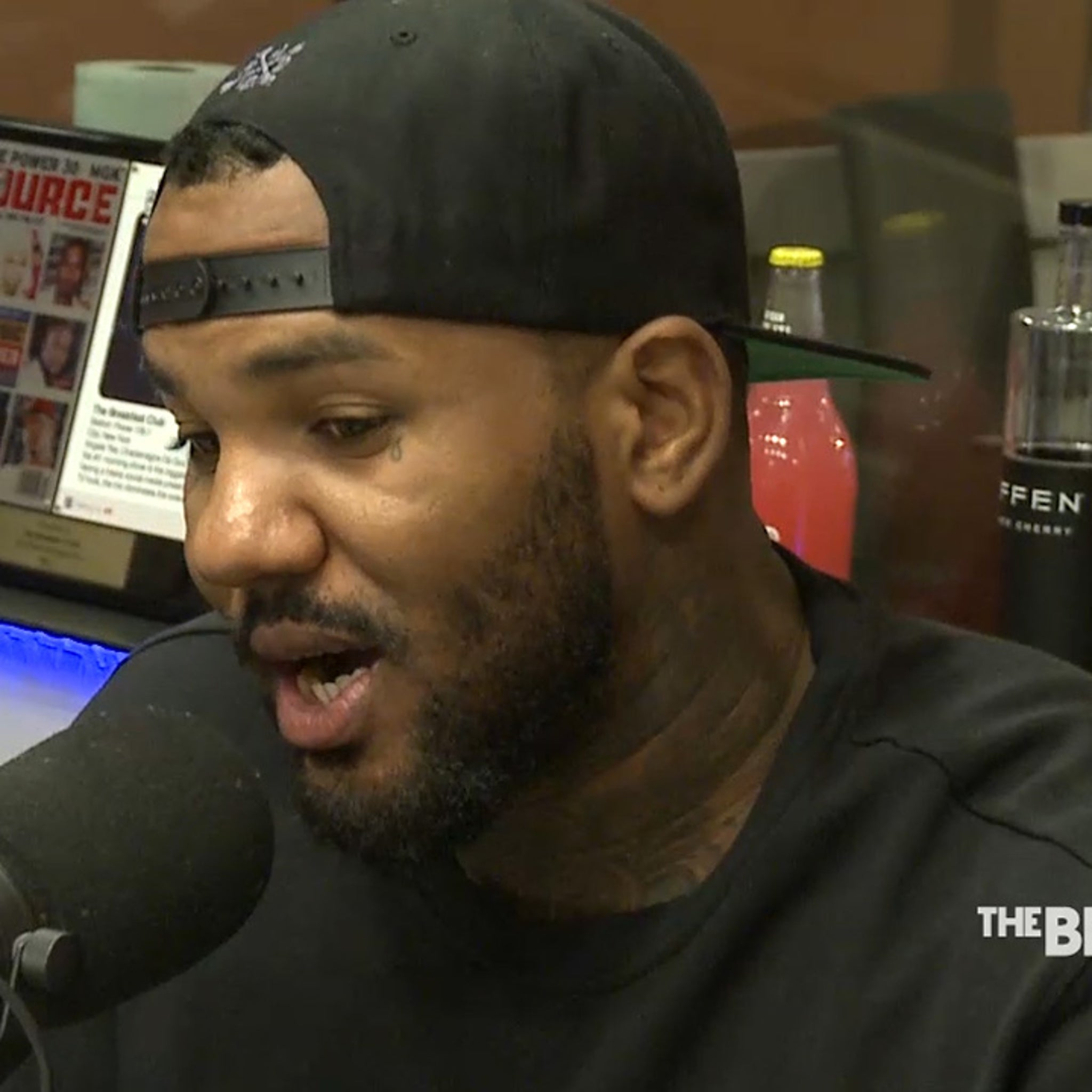 The Game -- Hints He Was Involved in Rival's Death (VIDEO)