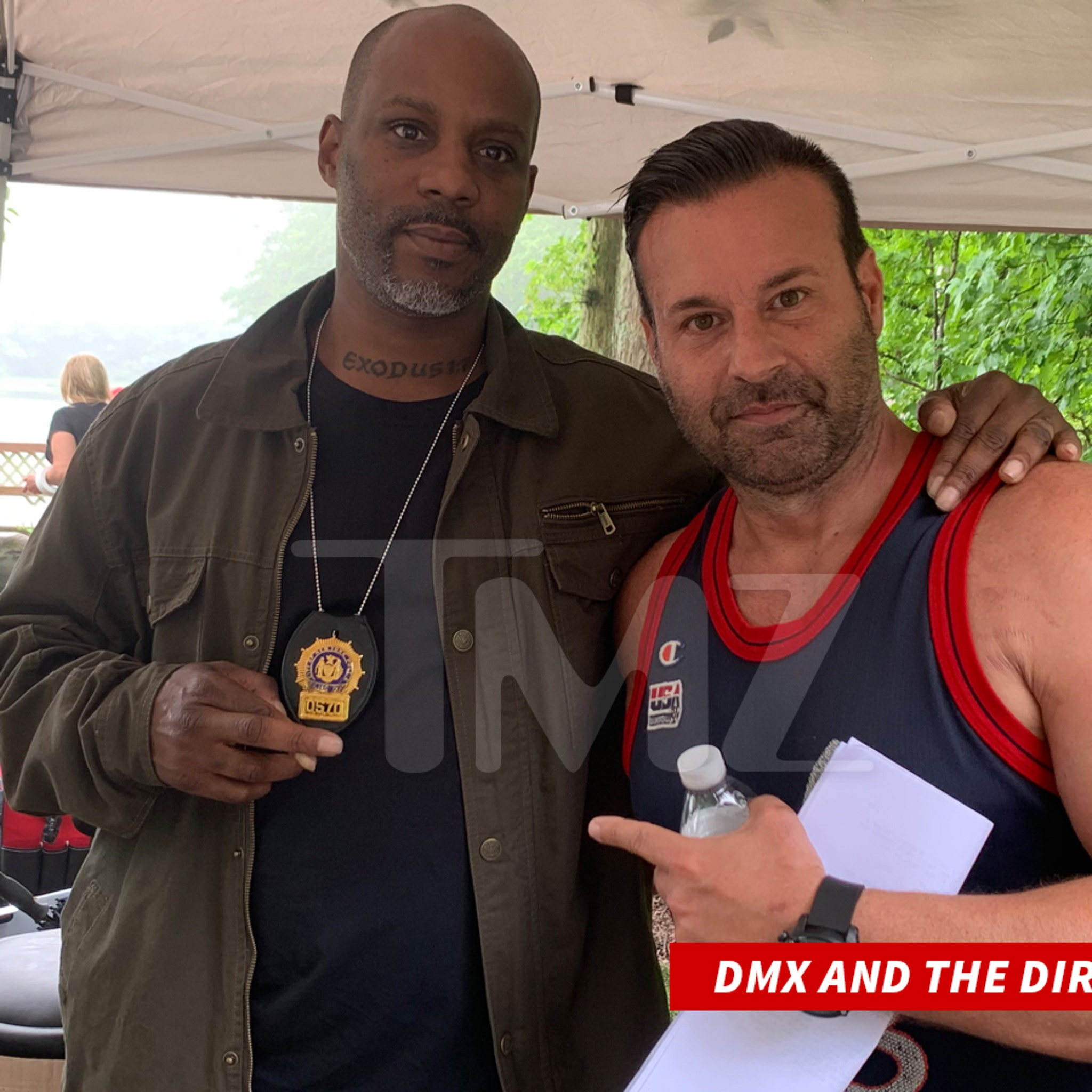 DMX Reports for Duty as Detective on Set of 'Chronicle of a Serial