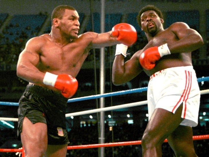 Mike Tyson Fight Photos
