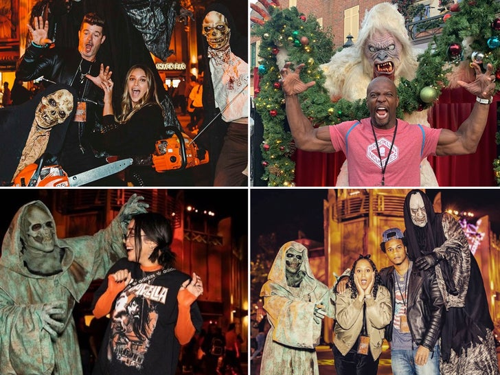 Famous Frights At Hollywood Horror Nights 2019