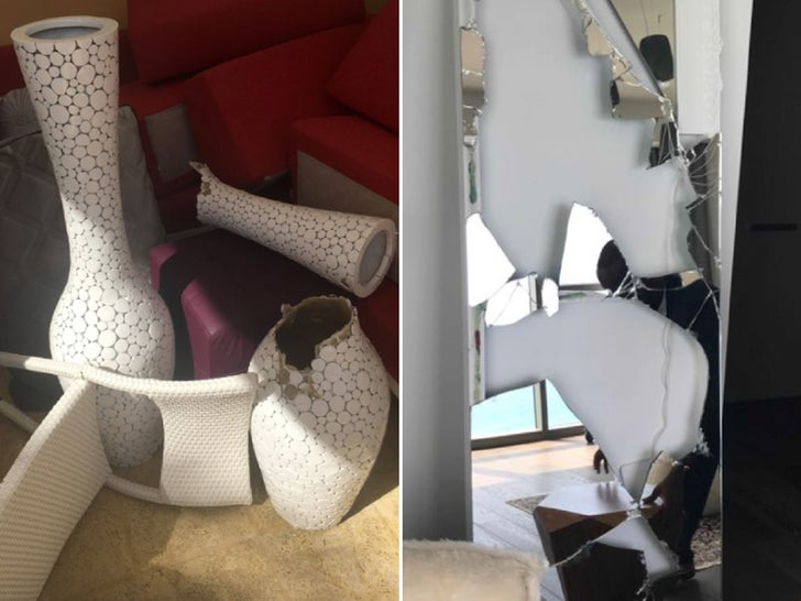 Antonio Brown's Alleged Condo Damage