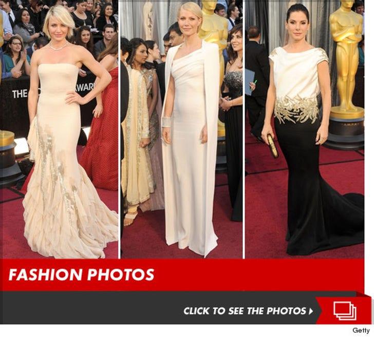 Unbelievably Satisfying Looks -- Oscars 2012