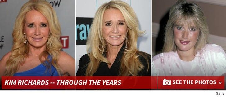 Kim Richards -- Through The Years