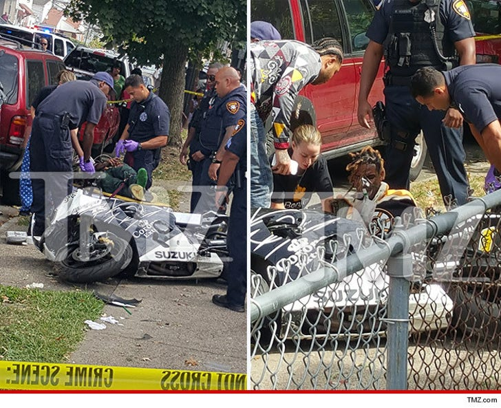 Fetty Wap -- Injured in Serious Motorcycle Accident