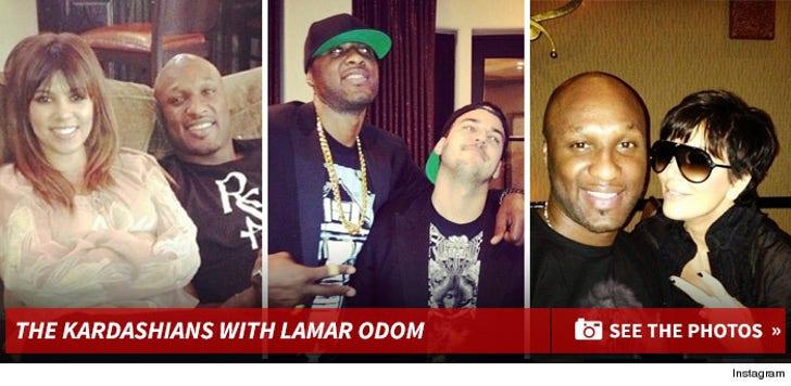 Kardashian/Jenner Family With Lamar Odom