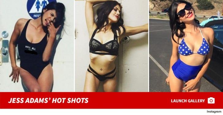 Jess Adams' Sexy Snapshots