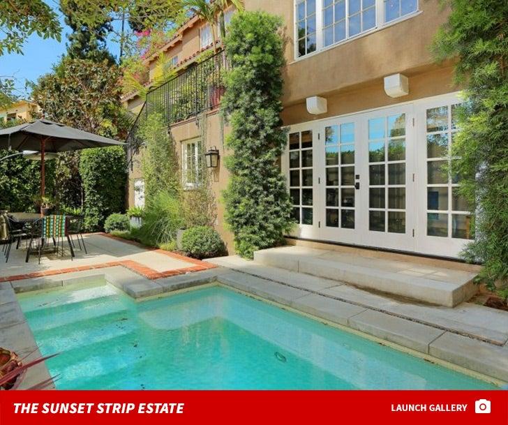 Usher's Sunset Strip Estate -- For $ALE!