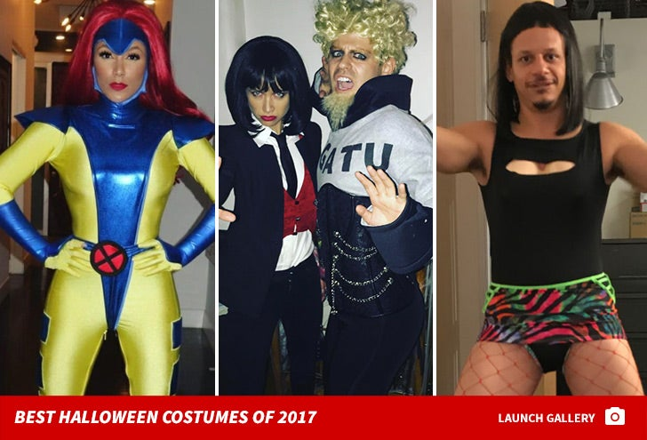 Best Celeb Halloween Costumes of 2017