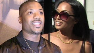 Ray J and Princess Back in L.A. But Divorce Threat Still Looms