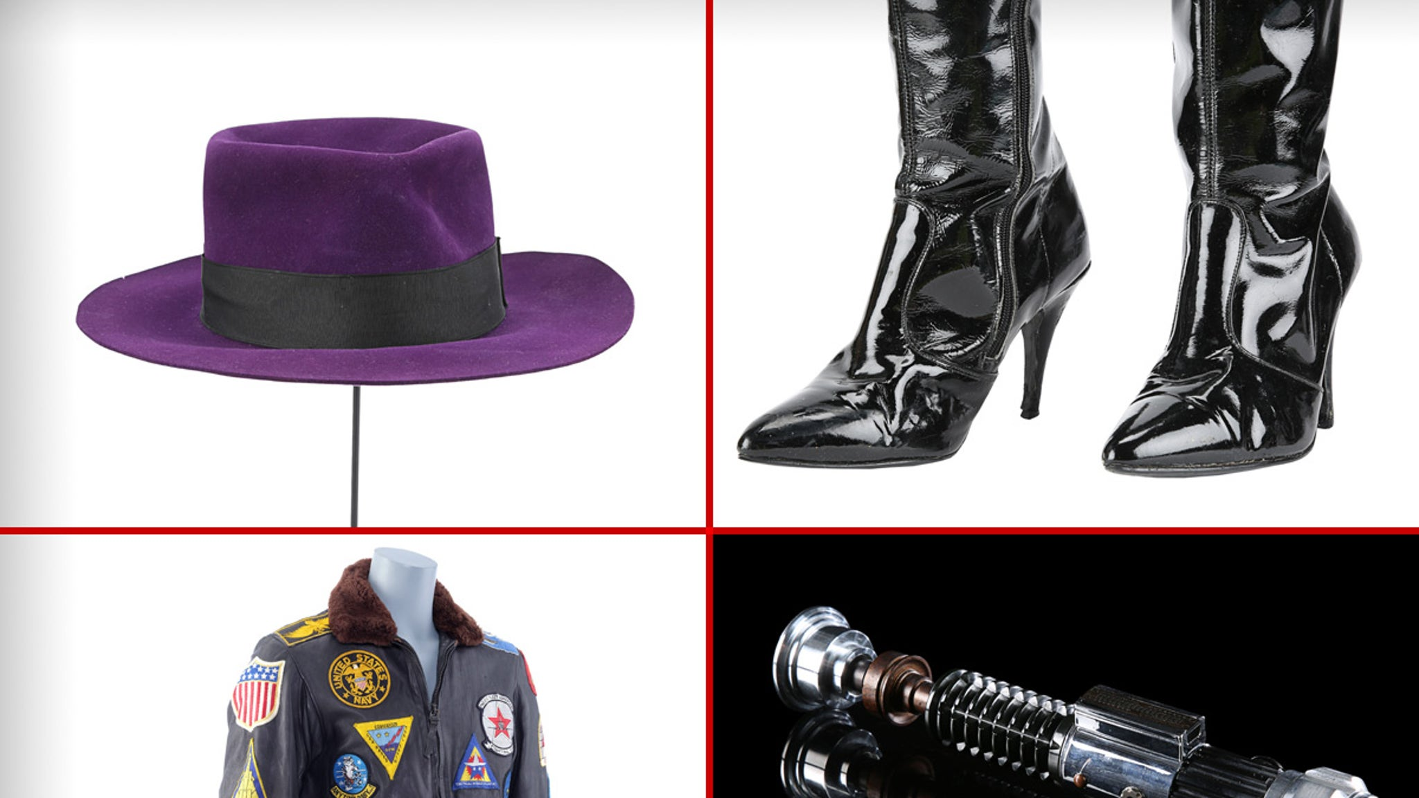 Joker's Fedora from 'Batman,' 'Star Wars' Lightsaber & More in $5.6 Mil Auction -