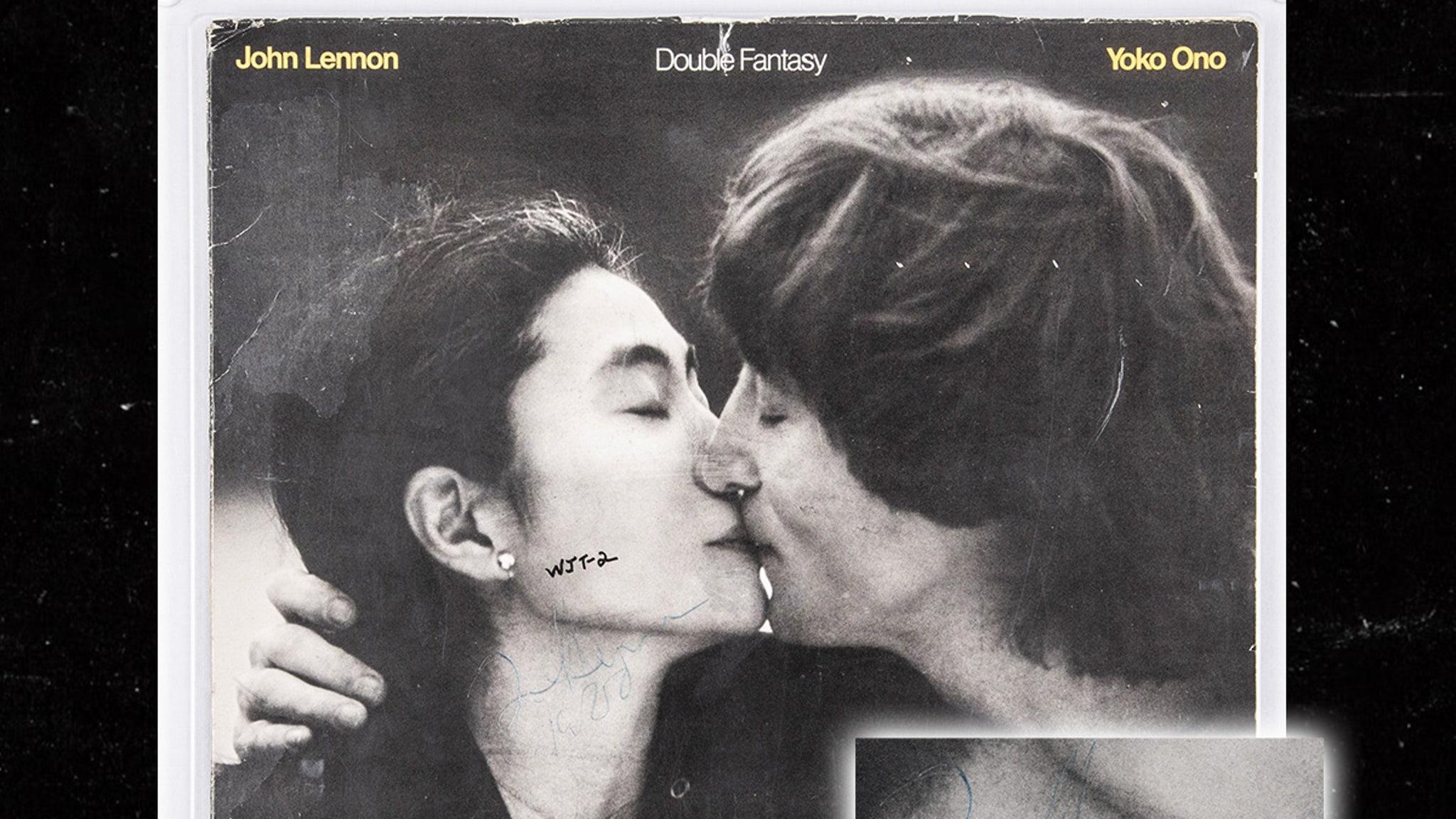 Album John Lennon Signed for Murderer Expected to Get $2 Million at Auction