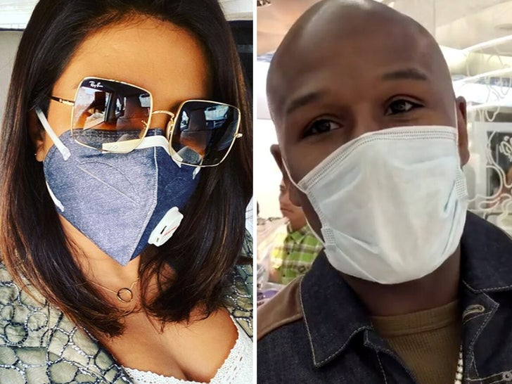 Stars Wearing Medical Masks