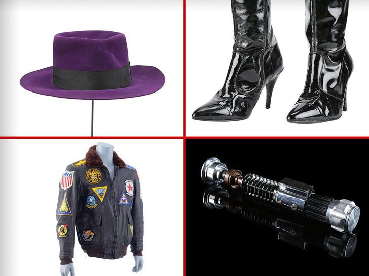 Hollywood Movie Memorabilia -- The Auction Items