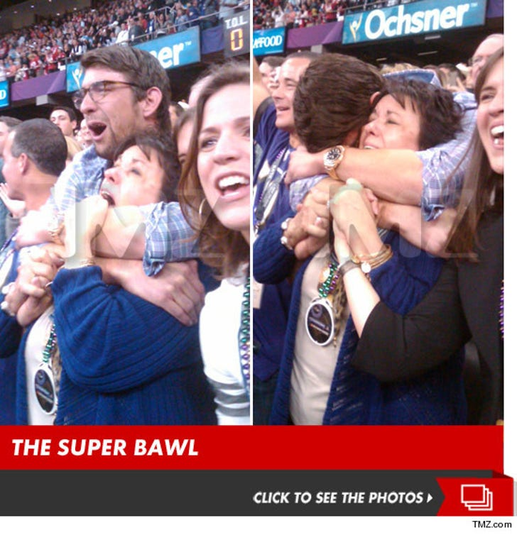 Michael Phelps -- The Super Bawl