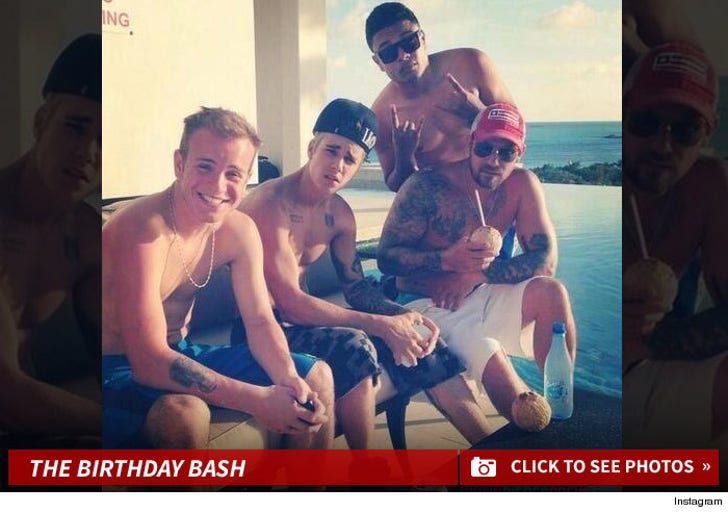 Justin Bieber's Birthday Boys