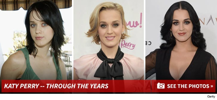 Katy Perry -- Through the Years