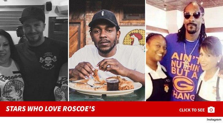 Stars Who Love Roscoe's Chicken & Waffles