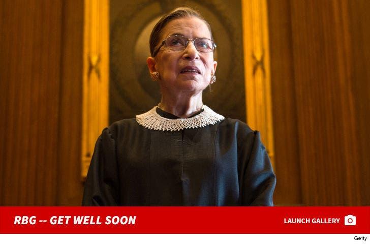 Ruth Bader Ginsburg's Supreme Shots